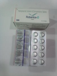 Rabeprazole 20mg + Domperidone 10 mg Tablets