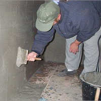 Basement Sunken Area Waterproofing