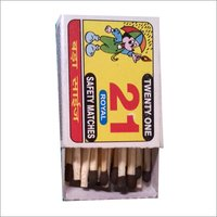 Twenty One Match Box