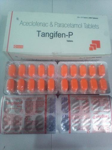 Aceclofenace 100mg + Paracetamol 325mg