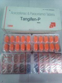 Aceclofenace 100mg + Paracetamol 325mg