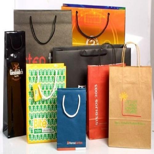 kraft-paper-bags / white kraft paper bag / Kraft paper Bag / Paper shopping Bag / Paper Hand bags