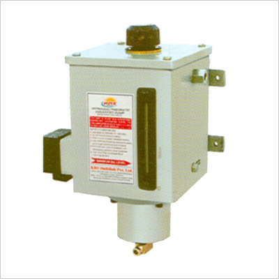 Hydraulic - Pheumatic Operated Pump