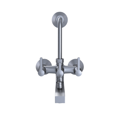 Wall Mixer 3 In 1 System With Provision For Hand S