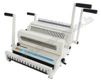 Comb And Wire Binding Machine