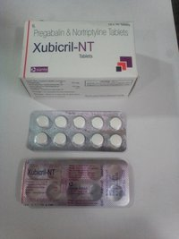 Pregabalbalin 75mg + Nortriptyline 10mg Tablets
