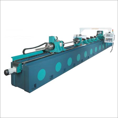 Automatic A Big And Lengthen Center Hole & Lengthen Bore Machine