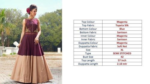 Women Wear Brown Gown