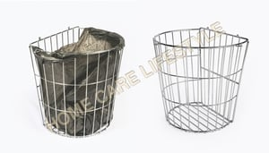Stainless Steel Use Me Wire Baskets