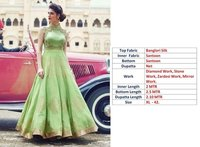 Light Green Gown Dresses