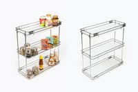 Bottle Pull Out 3 Shelf Euro