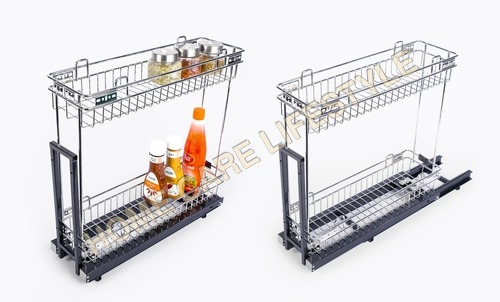 Bottle Pullout 2 shelf Luma