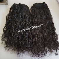 100% virgin human hair top quality Raw Curly Hair Extensions