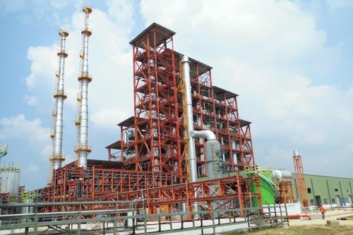 Acid company  plant