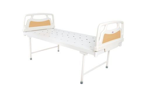 Plain bed with PP moulded head & foot panels
