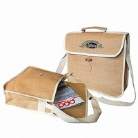 Jute Conference Laptop Bag