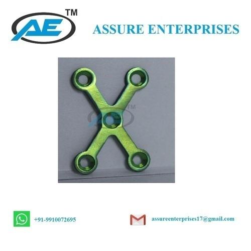 Assure Enterprises X Shape Plate