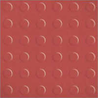 Terracotta Polka Dots Floor Tile Series
