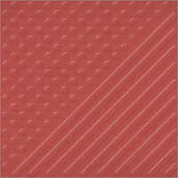 Terracotta Dot & Strip Floor Tile Series