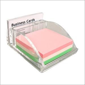 Business Card Holder Cum Pen Stand