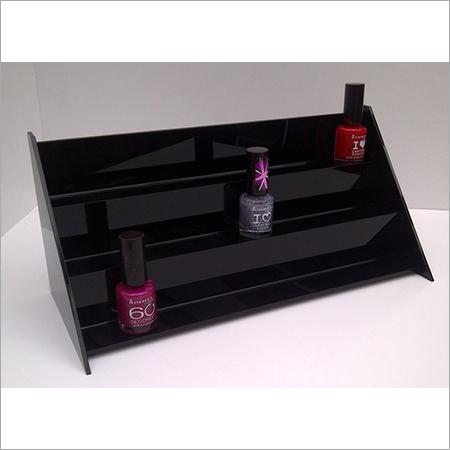 Acrylic  Three Layer Nail Polish Display Stand