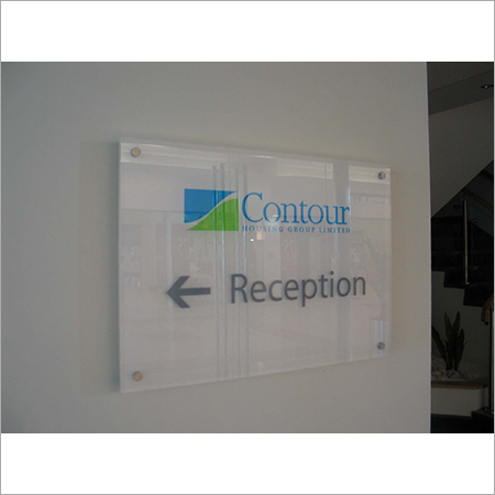 Acrylic Directional Sign