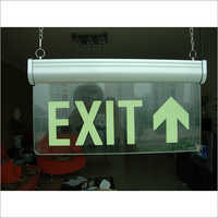 Acrylic Exit Sign