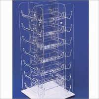Pl792 Clear Acrylic Four Sided Sunglass Glasses
