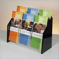 Acrylic Multiple Leaftlet Stand