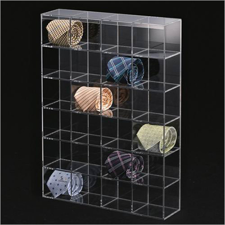 Acrylic Tie Displays Cases