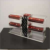Clear Counter Top Tie Display Box