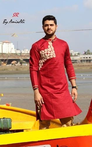 Designer Fashionable Kurta Pyjama