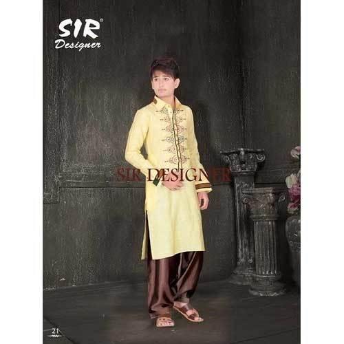 Boys Designer Kurta Pyjama Set