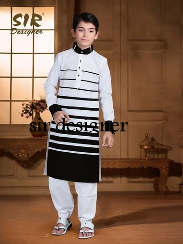 Printed Pathani Suits