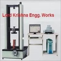 Spring Load Testing Machine
