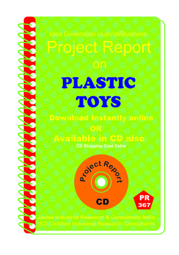 Plastic Toys manufacturing Project report eBook