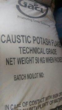 Caustic Potash Flakes GACL