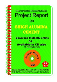 High Alumina Cement manufacturing Project Report eBook