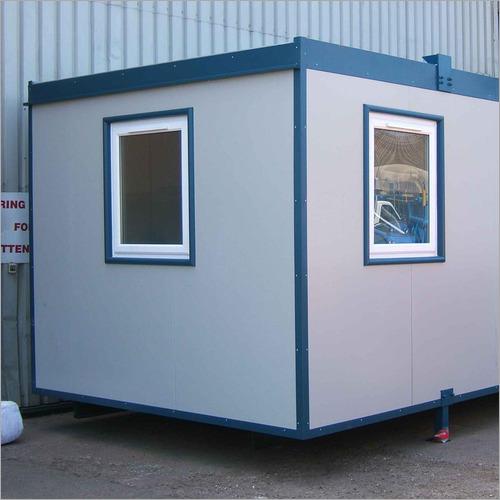 Portable FRP Security Cabin