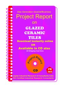 Glazed Ceramic Tiles manufacturing project report eBook