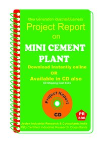 Mini Cement Plant manufacturing Project Report eBook