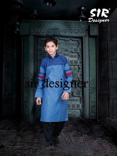 Cotton Pathani Suit