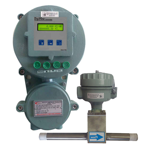 Flameproof Insertion Paddle type Flow Transmitter