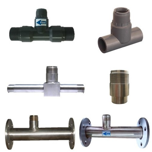 Type of T-FITTINGS for Insertion Paddle Wheel type Flow Transmitters