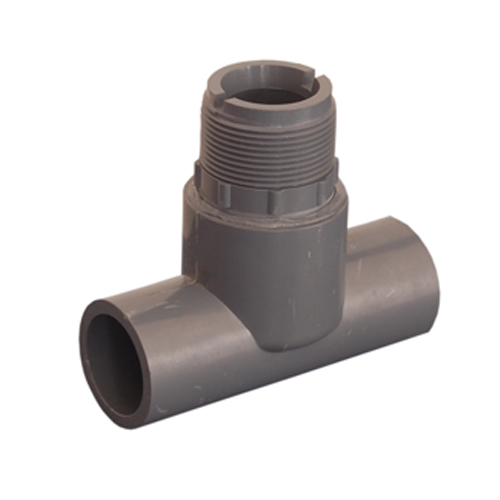Solventable T Fitting for Insertion Paddle Wheel Flow Sensor