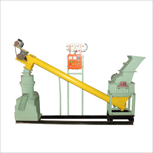 Pellet Power Press With Hammer Mill Grinder
