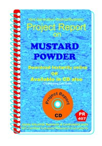 Mustard Powder manufacturing Project Report eBook