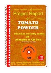 Tomato Powder manufacturing Project Report eBook