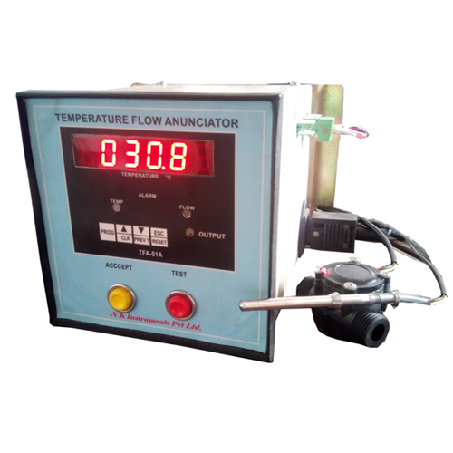 Annunciator for Flow & Temperature
