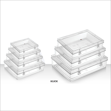 Klick Packaging Containers